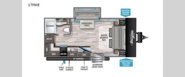 Imagine XLS 17MKE Floorplan