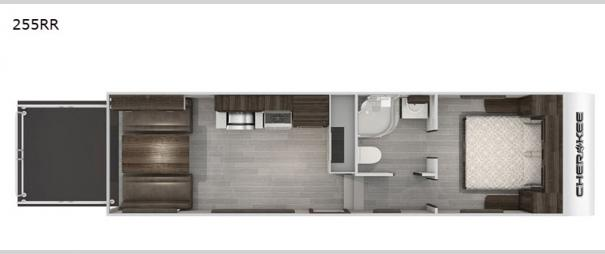 Cherokee Black Label 255RRBL Floorplan