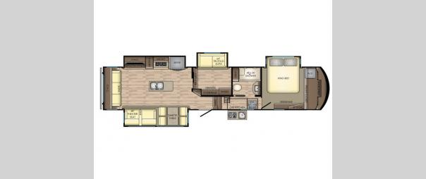 Cameo CE3961MB Floorplan