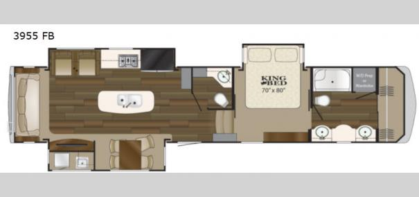 Big Country 3955FB Floorplan
