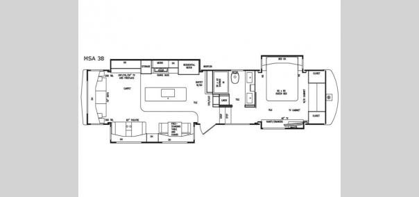 Mobile Suites Aire MSA 38 Floorplan