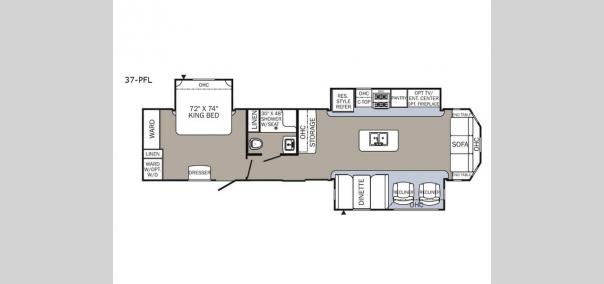 Puma Destination 37-PFL Floorplan