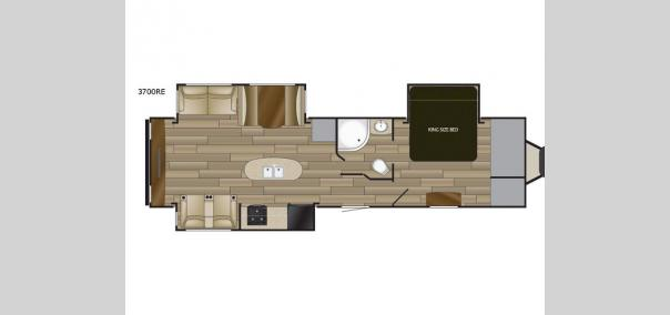 MPG 3700RE Floorplan