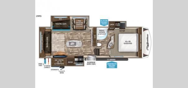 Reflection 29RS Floorplan