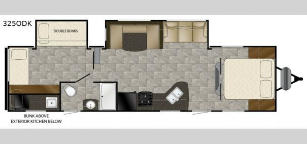 Trail Runner 325ODK Floorplan