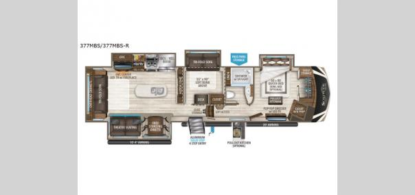 Solitude 377MBS Floorplan