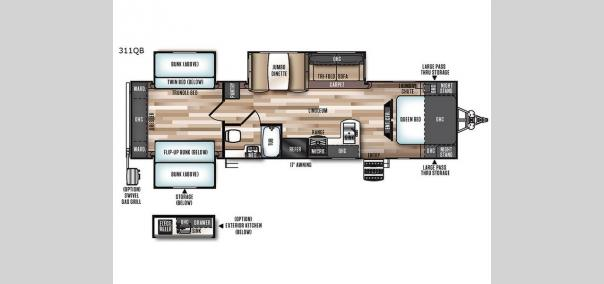 Wildwood Heritage Glen 311QB Floorplan
