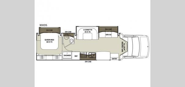 Concord 300DS Ford Floorplan