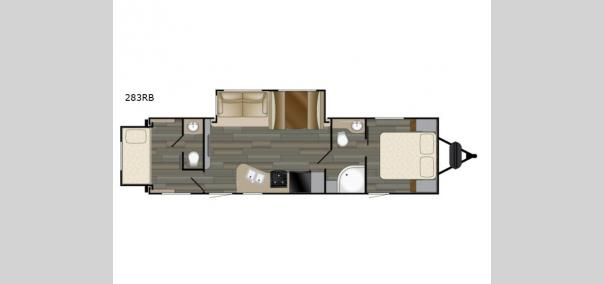 Sundance XLT 283RB Floorplan