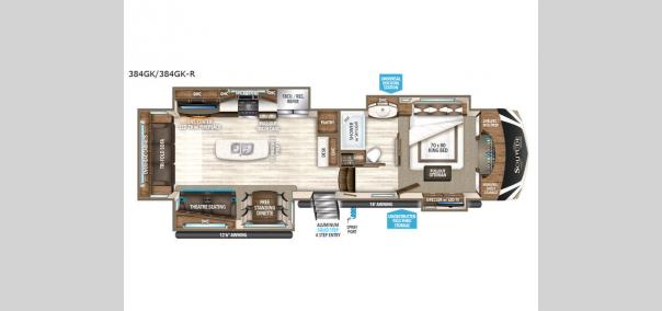 Solitude 384GK Floorplan