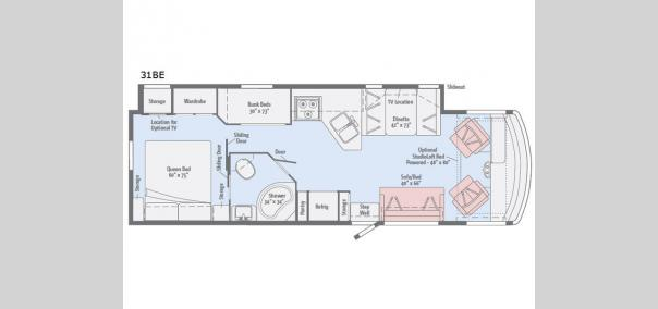 Vista 31BE Floorplan