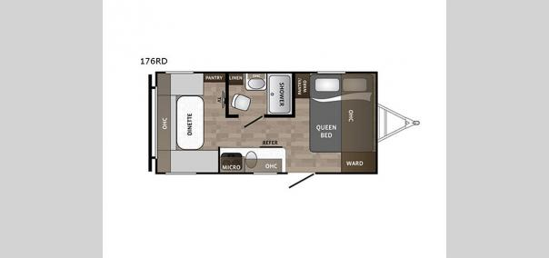 Kodiak Cub 176RD Floorplan