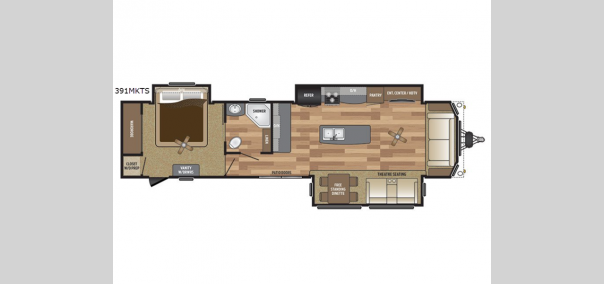 Retreat 391MKTS Floorplan