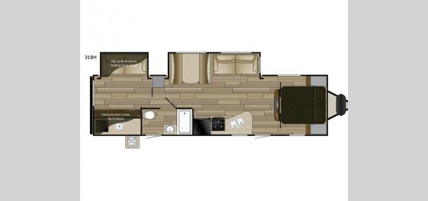 Fun Finder XTREME LITE 31BH Floorplan