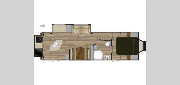 Fun Finder XTREME LITE 27IK Floorplan