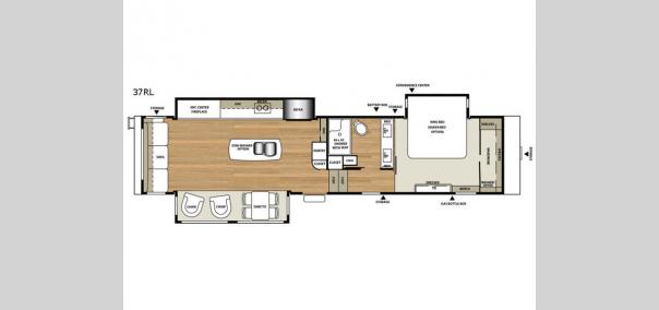 RiverStone 37RL Floorplan