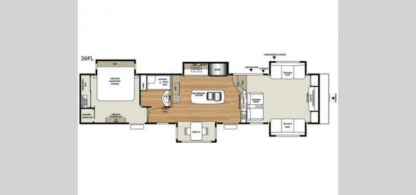 RiverStone 39FL Floorplan