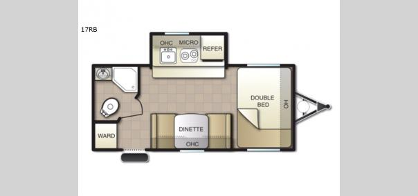 Mighty Lite 17RB Floorplan