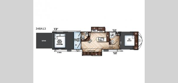 Vengeance 348A13 Floorplan