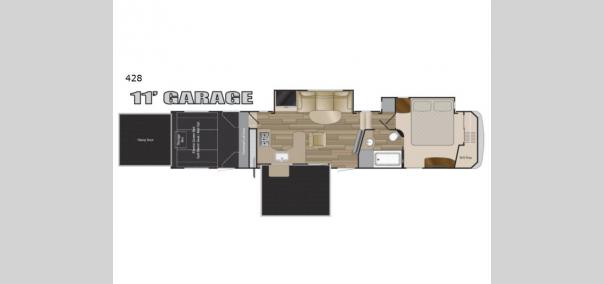 Road Warrior 428 Floorplan