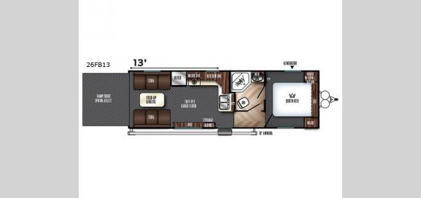 Vengeance 26FB13 Floorplan