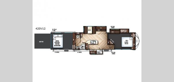 Vengeance 420V12 Floorplan