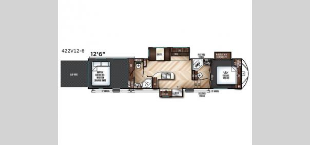 Vengeance 422V12-6 Floorplan