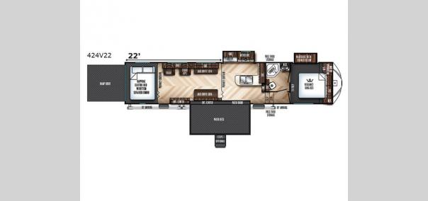 Vengeance 424V22 Floorplan
