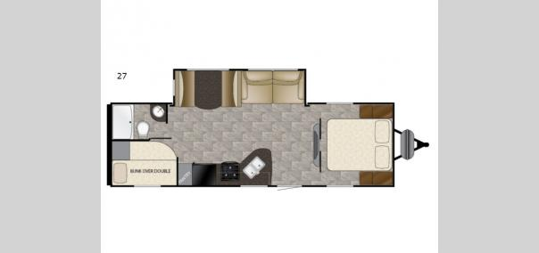 Trail Runner SLE 27 Floorplan