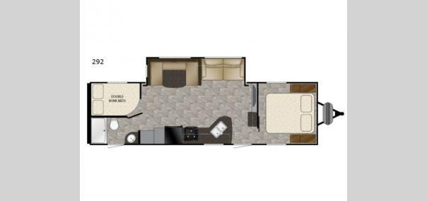 Trail Runner SLE 292 Floorplan