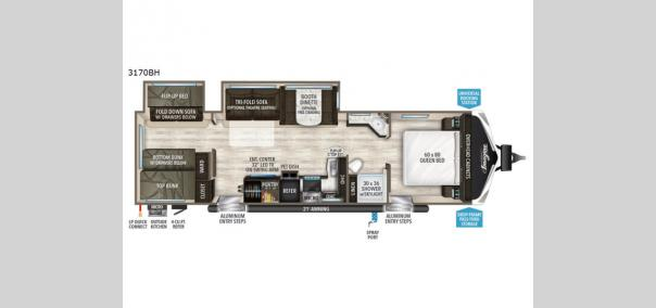 Imagine 3170BH Floorplan