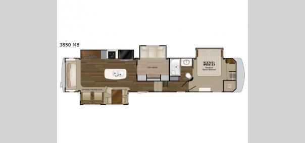 Big Country 3850 MB Floorplan