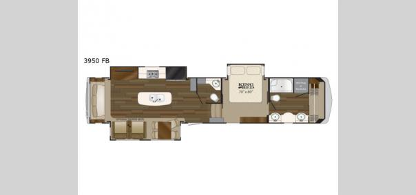 Big Country 3950FB Floorplan