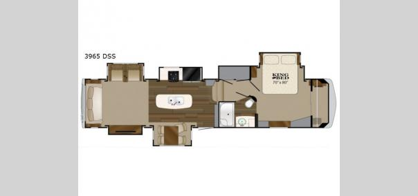 Big Country 3965DSS Floorplan