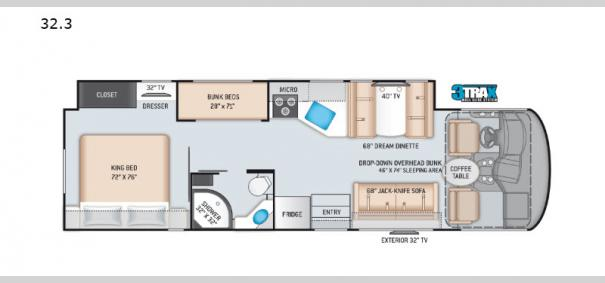 ACE 32.3 Floorplan
