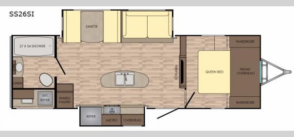Sunset Trail Grand Reserve SS26SI Floorplan