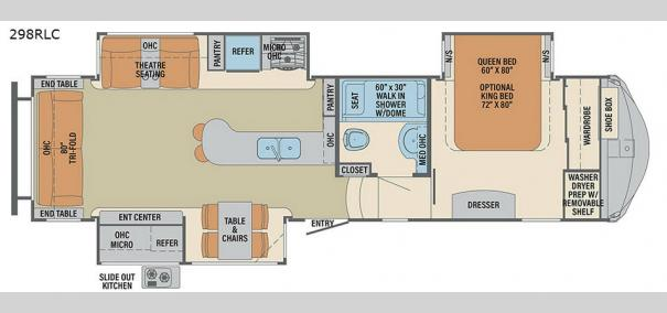Columbus 298RL Floorplan