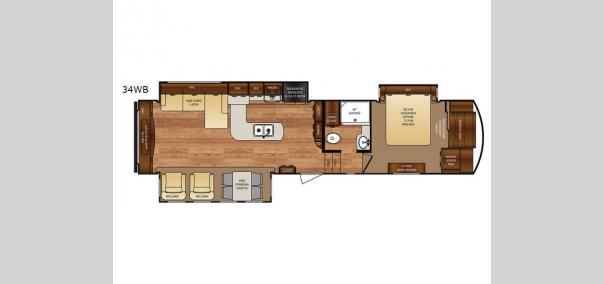 Wildcat 34WB Floorplan