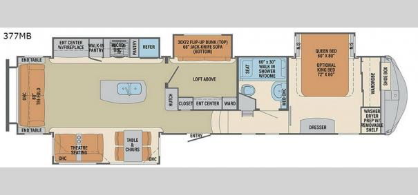 Columbus F377MB Floorplan