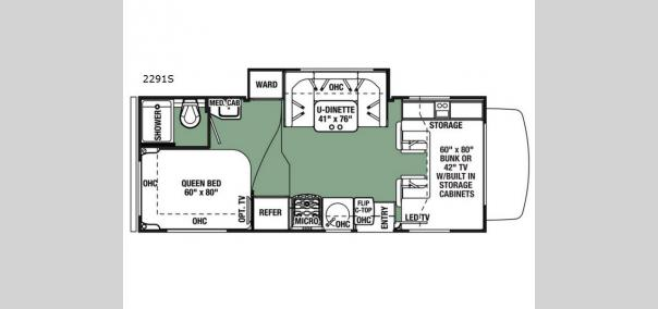 Forester 2291S Ford Floorplan