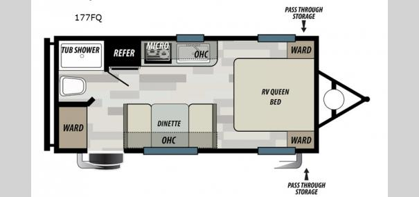 EVO Select 177FQ Floorplan