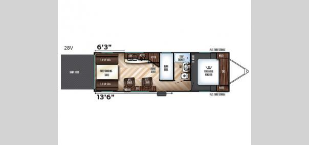 Vengeance Super Sport 28V Floorplan