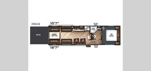 Vengeance Super Sport 295A18 Floorplan