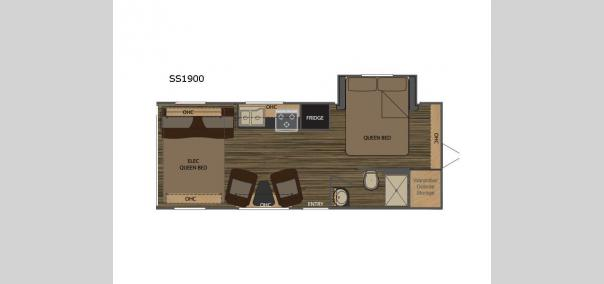 Weekend Warrior Extralite SS1900 Floorplan