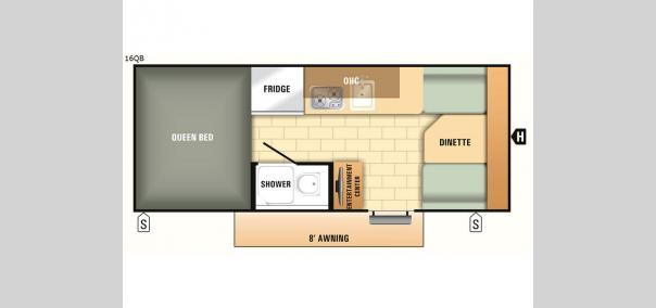 Comet Mini 16QB Floorplan