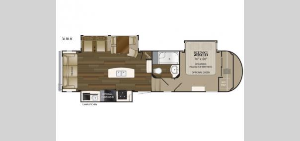 ElkRidge 31RLK Floorplan