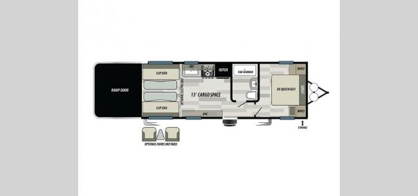 Stealth FQ2313 Floorplan