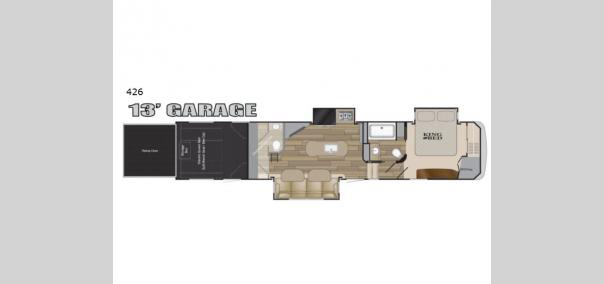 Road Warrior 426 Floorplan