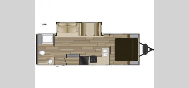 Fun Finder XTREME LITE 26RB Floorplan