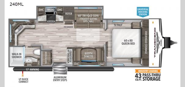 Transcend Xplor 240ML Floorplan